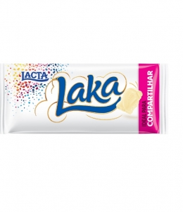 Tablete de Chocolate Laka 135g Lacta