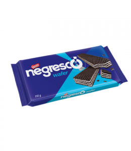 Biscoito Wafer Negresco - Chocolate e Baunilha - 110gr - Nestlé